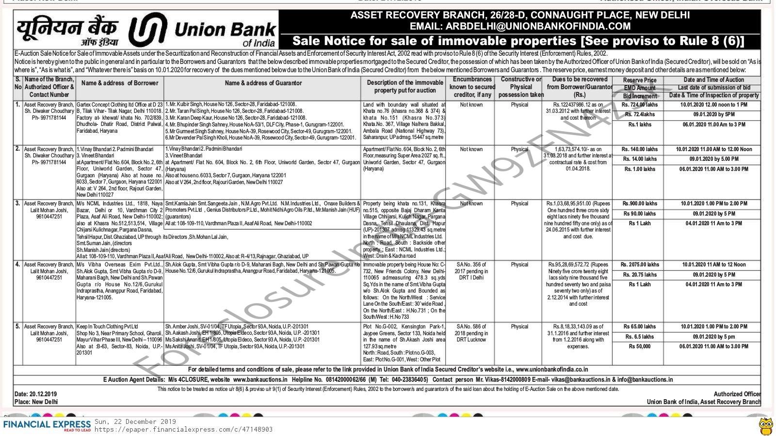 union bank gurgaon sector 14